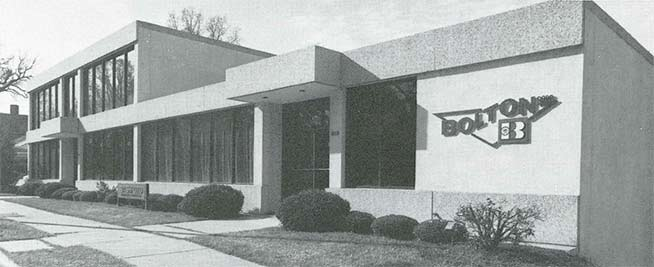 Bolton Corp.'s main office at 919 West Morgan St. 1957