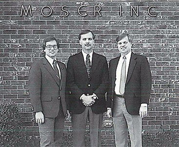 Mike Moser, Steve Harrower and Scott Harrower